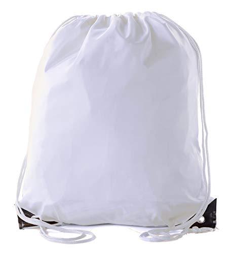 Mato & Hash Kordelzugbeutel, Kordelzug, 15 Farben, 100 Stück erhältlich, Unisex-Erwachsene, weiß, 30 Bags