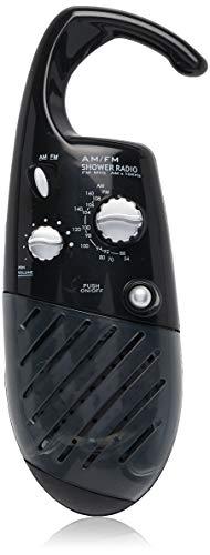 Conair Home Shower Radio; Black