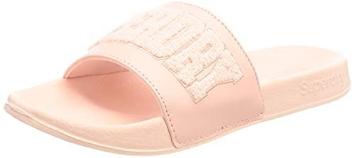 Superdry Damen F3-FLIP Flop Slipper, Pink Clay, 38 EU