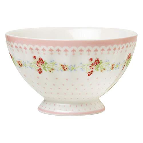GreenGate Schale Schüssel French Bowl Sinja White Ø 10 cm Limitierte Sonderedition