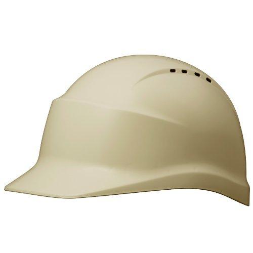 ミドリ安全 ヘルメット バイザー型 一般作業用 通気孔付 SC5BV RA KPなし アイボリー