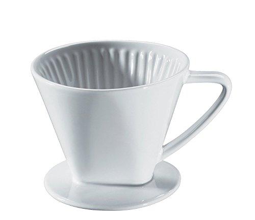 Cilio - Kaffeefilter weiß - Porzellan - Größe 2