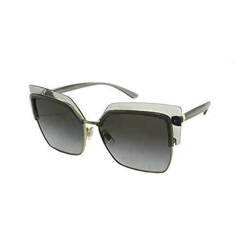 Dolce & Gabbana 0DG6126 Gafas, Transparent Grey/Gold, 60 para Mujer
