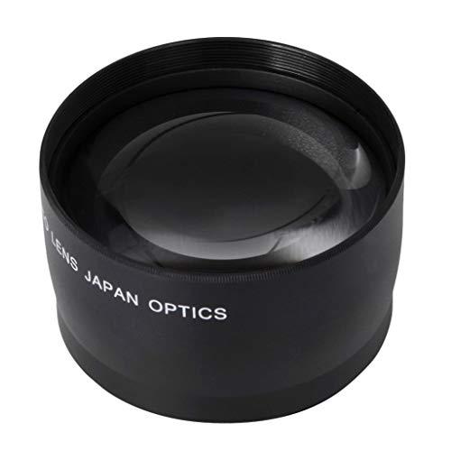 Gazechimp 52mm 2X Teleobjetivo para Canon EOS 1200D 1100D 1000D 750D 7D 5D 18-55mm