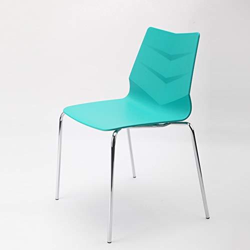 MROSW bureaustoel creatieve Scandinavische eenvoudige ijzer terug personeel boog computer stoel eetstoel