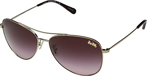 Gafas de Sol Coach HC 7079 Pale Gold/Burgundy Shaded 58/14/140 mujer