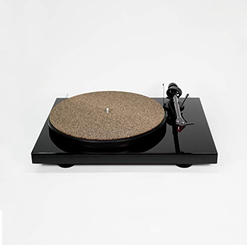 CoRkErY Cork N Rubber Turntable Platter Mat – 1/16' – Audiophile Slipmat – Made in USA
