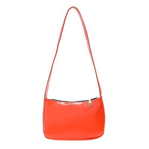 XinWangFaBaiHuoYouXianGongSi Fashion Women Shoulder Bags Zipper PU Leather Solid Simple Messenger Bag