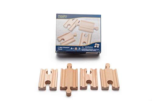 Circuit de train en bois Mini-droites Mixtes