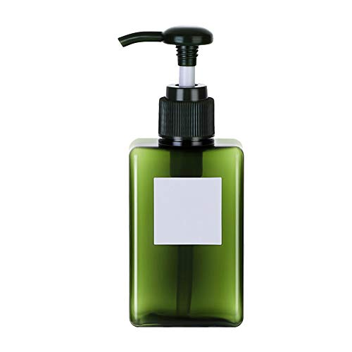 Steellwingsf Botellas vacías portátiles para dispensar, 100/150/250 ml, loción para el hogar, champú de ducha vacío, rellenable, botella dispensador Atrovirens 100 ml