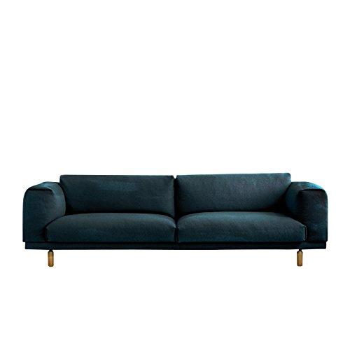 Muuto Rest Sofa / 3-Seater Steelcut
