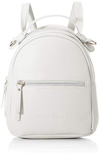 TOM TAILOR Denim Damen Linea Rucksackhandtasche, Weiß (Weiß), 23x23.5x10 cm