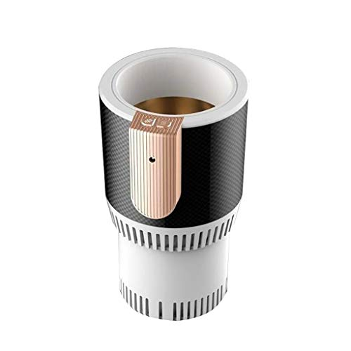 LXYZ Portable Car Cup Cooler Warmer Semiconductor Mini Fridge Drink Holder Cooling Heating Beverage Cans Coffee,12V Auto Electric Cup Drink Holder.