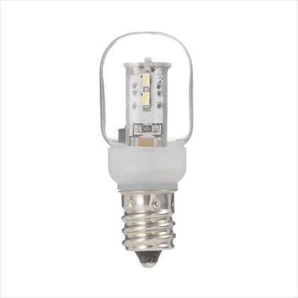 ヤザワ『ナツメ形LEDランプ電球色E12クリア』