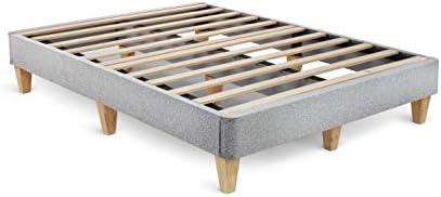 Leesa Queen Platform Bed Mattress Foundation Gray product image