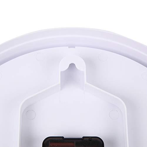 MAG(マグ)掛け時計非電波アナログ知育時計よーめる直径28cmホワイトW-736WH-Z
