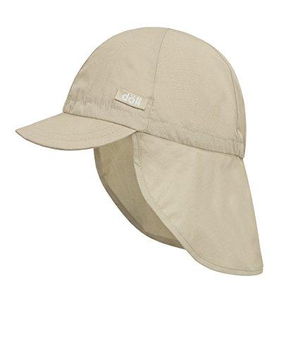 Döll Unisex Baby Baseballmütze mit Nackenschutz Mütze, Beige (Oxford Tan 6010), (Herstellergröße: 55)
