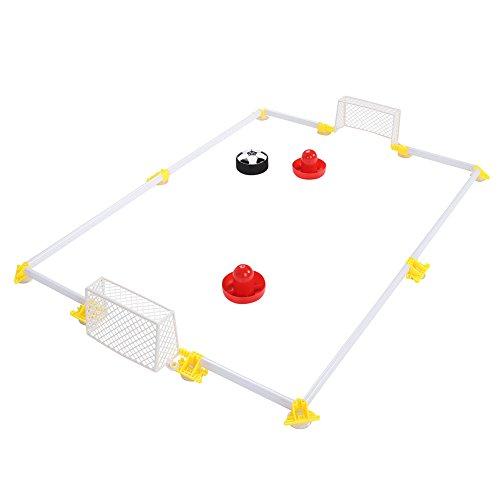 Alomejor Tabelle Air Power Fußball Spielzeug Air Power Fußball Disk Hover Ball Air Hockey Hover Fußball Fußballplatz Spiel Spielzeug Set für Kinder