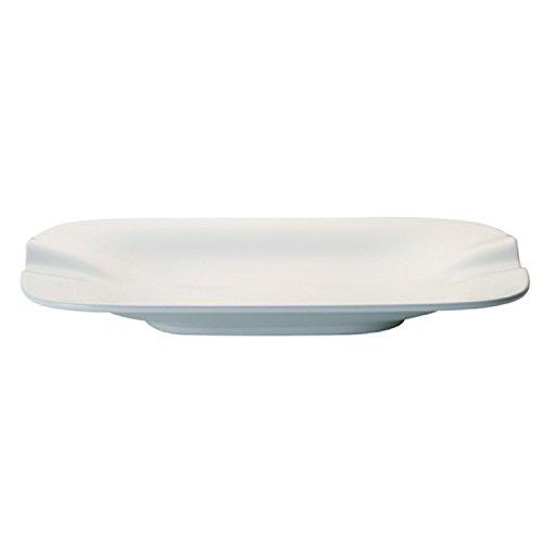 Villeroy & Boch Pasta Passion Lasagne-Teller Set 2 Stück 32,5 x 22,4 x 3,8 cm, Porzellan, weiß, Einheiten