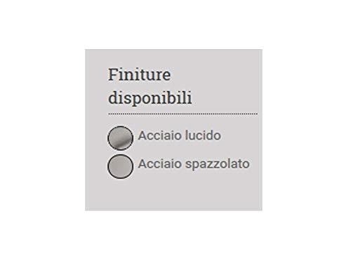 Buy Bargain Fantini Acquadolce Dream.1 ceiling multifunction shower head L041B-Brushed Steel
