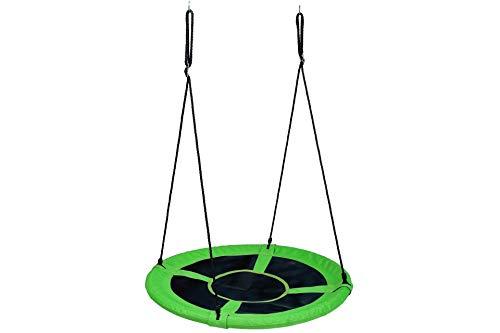 ADVENTURE OUTSIDE Nestschaukel rund Ø 100cm grün mit Zubehör