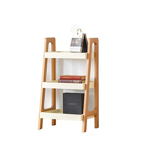 Revisteros Estanteria Estante de Madera Maciza Multi-Capa Pantalla de múltiples Capas, Simple Study Sith Sobred Ladder Rack Rack Industrial Storage Rack Xuan - Worth Having