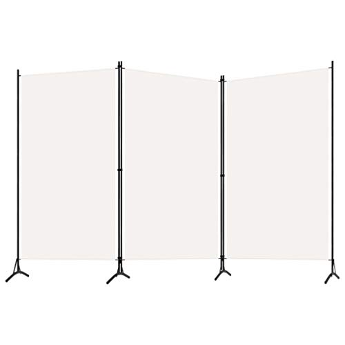 pedkit Biombo Divisor de 3 Paneles Biombo Separador Separador de Ambie