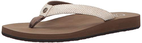 Cobian Women's Fiesta Skinny Bounce Tan Sandals, 7