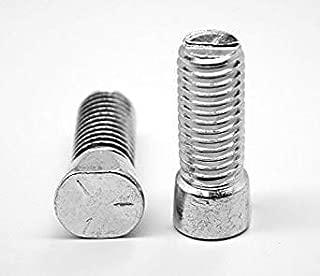 "Fabory 3//8/""-16 Carbon Steel Square Neck Plow Bolt Zinc Plated 1-1//2/""L Grade 5"