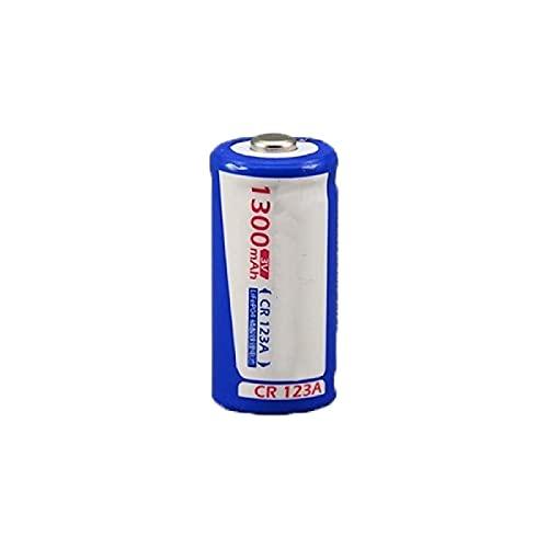 RECORDARME 1 Piezas De Gran Capacidad Lifepo4 1300mah 3v Cr123a Batería De Litio Recargable, para Linternas Dispositivos ElectróNicos De CáMara Control Remoto