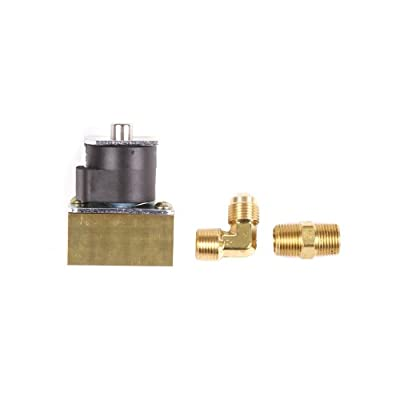 """Trident Marine 1300-7706.2-Kit Low Pressure L.P. Gas 12V DC Solenoid Valve, 3/8"""" FPT Ports from Trident Marine"""