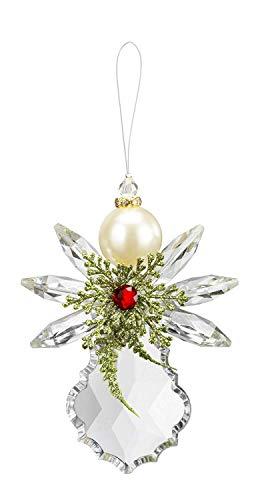 Ganz Crystal Expressions Pearl Angel Acrylic Ornament
