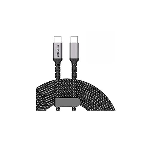 85W USB C Cargador de Coche, 3 Puertos PPS/PD 65W / 45W / 30W / 20W QC3.0 18W Tipo C Tableta Laptop 12 S20 / Note 10/20 (Plug Type : 5A PD 100W Cable)