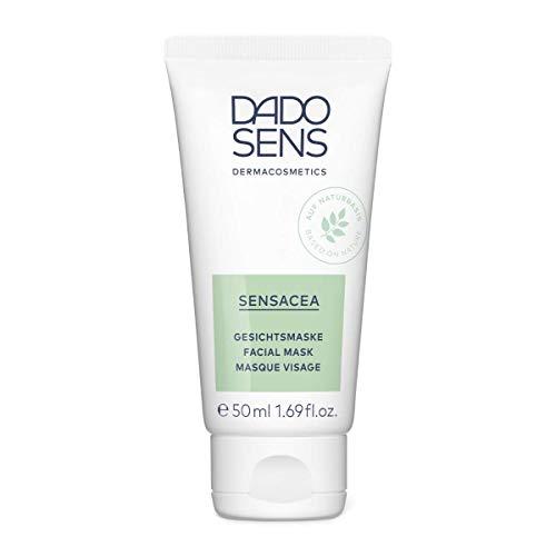 Dado Sens Sensacea Gesichtsmaske 50ml - milde Gesichtsmaske - verwöhnt hypersensible Gesichtshaut mit Neigung zu Couperose
