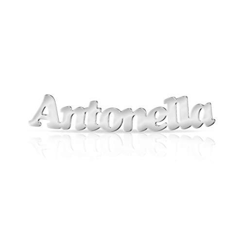 Orecchino con nome Antonella