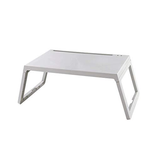 DBL Table pliante, Table pour ordinateur portable, Table de nuit, Bureau, Table à manger, Bureau, Multifonction, Canapé, Extérieur, Terrasse, PP Table pliable