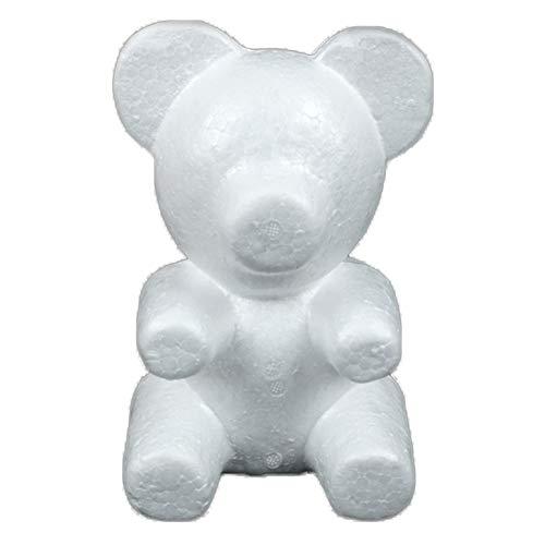 display08 Modelado de poliestireno poliestireno espuma de poliestireno oso blanco manualidades bolas...