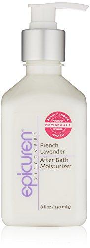 Epicuren Discovery French Lavender After Bath Body Moisturizer, 8 Fl Oz