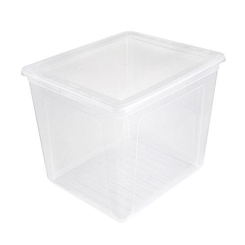 keeeper Aufbewahrungsbox mit Air Control System, 39 x 33,5 x 35 cm, 30 l, Bea, Transparent
