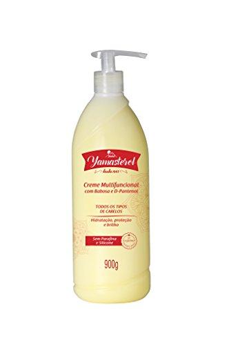 Creme Multifuncional Yamasterol com Babosa e D.Pantenol, Yama, Amarelo, 900 ml