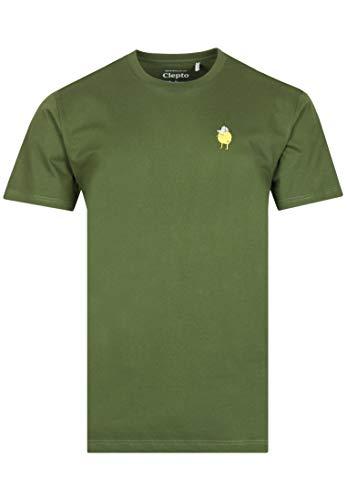 Cleptomanicx Zitrone T-Shirt - S