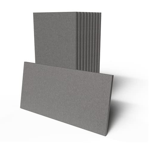 IMBALLAGGI 2000-10 Pannelli in polistirolo e grafite - 100x50x3cm - Pannelli per isolamento termico - Densità 20Kg/mq - Isolamento migliorato ideali per cappotto termico