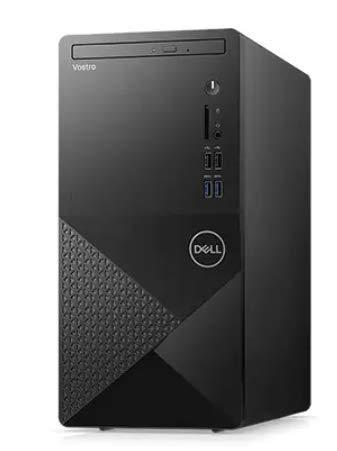 2021 Newest Dell Vostro 3000 Special Edition Desktop Computer, 6 Core Intel Core i5-10400 2.90 GHz, 16GB RAM, 512GB SSD + 1TB HDD,DVD, Bluetooth, Wi-Fi, VGA, RJ-45, HDMI, Windows 10 Pro
