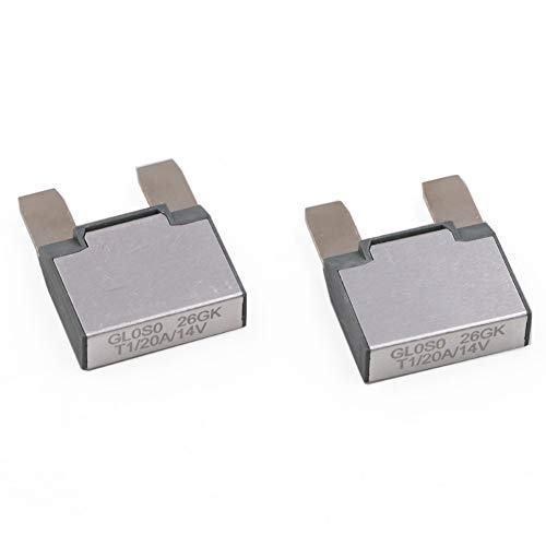 T Tocas 14V DC MAXI Auto Reset (T1) Footprint Automotive Circuit Breakers 2pcs (20A)