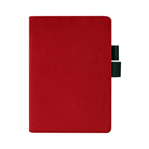 Cuaderno de papelería Japonesa y Coreana A5 Hobo Planificador Cubierta de Libro Tela Arte Cuaderno Shell Diario de Estudiante Escuela