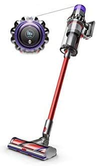 Dyson V11 Outsize Cordless Vacuum Cleaner, Nickel/Red (Renewed)