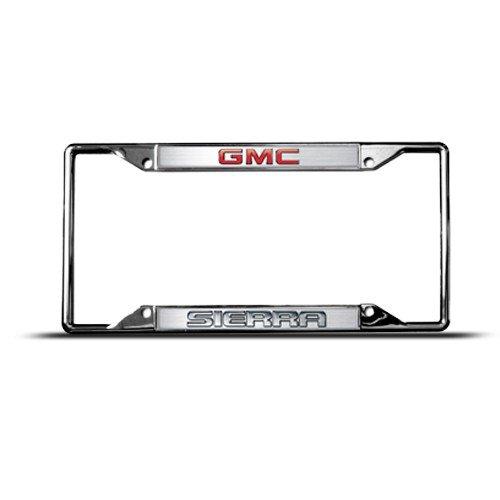 Eurosport Daytona Gmc Sierra Metal Zinc License Plate Frame Tag Holder Tag Holder
