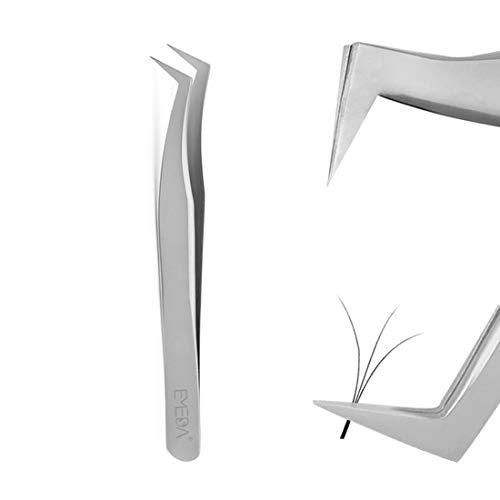 Pincettes EMEDA Eyelash Extension Pince à épiler professionnelle de type L pour cils Volume Pince 3D 6D
