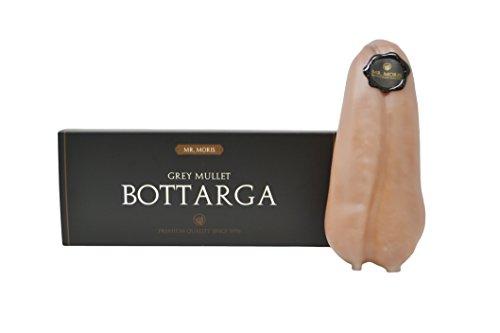Bottarga di Muggine Mr. Moris Kosher Qualità Premium Ricoperta di Cera - Lavorata in Italia - (Medium - 125Gr ca)