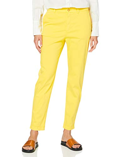 BOSS Sachini4-d Pantalones, Amarillo (Bright Yellow 730), 34 para Mujer